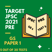 JPSC Batch 2021 GS Paper 1 (Part 5) - FULL TEST